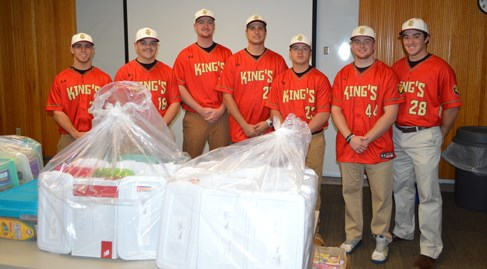 King's Baseball Delivers Record 1,957 Jared Boxes to